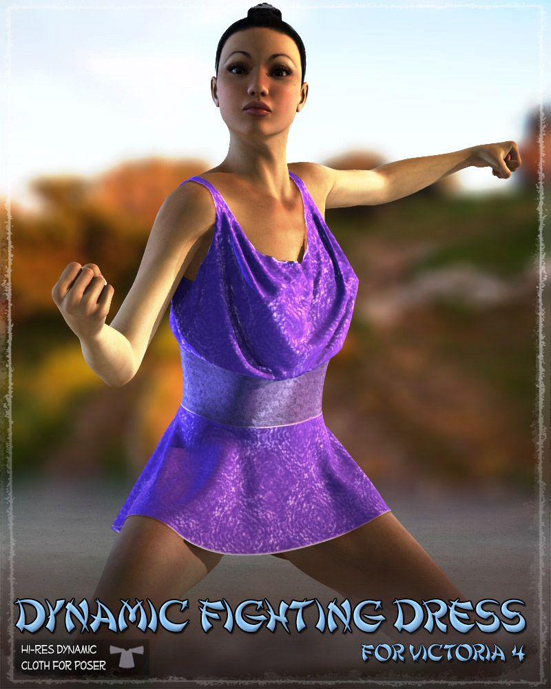 Dynamic Fighting Dress