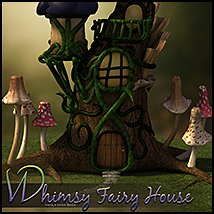 Whimsy Fairy House image 1
