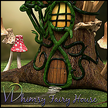 Whimsy Fairy House image 2