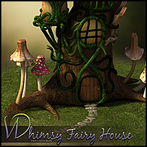 Whimsy Fairy House image 3