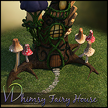 Whimsy Fairy House image 4