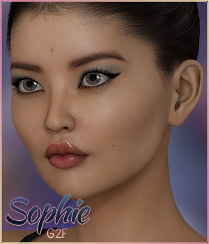 Sabby-Sophie for Genesis 2 3D Figure Essentials Sabby