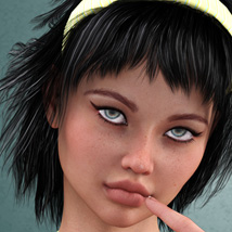 Minta Hair for V4 and G2 image 6