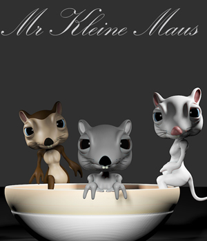 Mr Kleine Maus 3D Models CHK2033