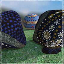 Photo Props: Painted Stones image 1