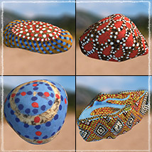 Photo Props: Painted Stones image 4
