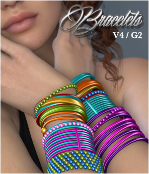 Bracelets - Jewel Basics III 3D Figure Essentials P3D-Art