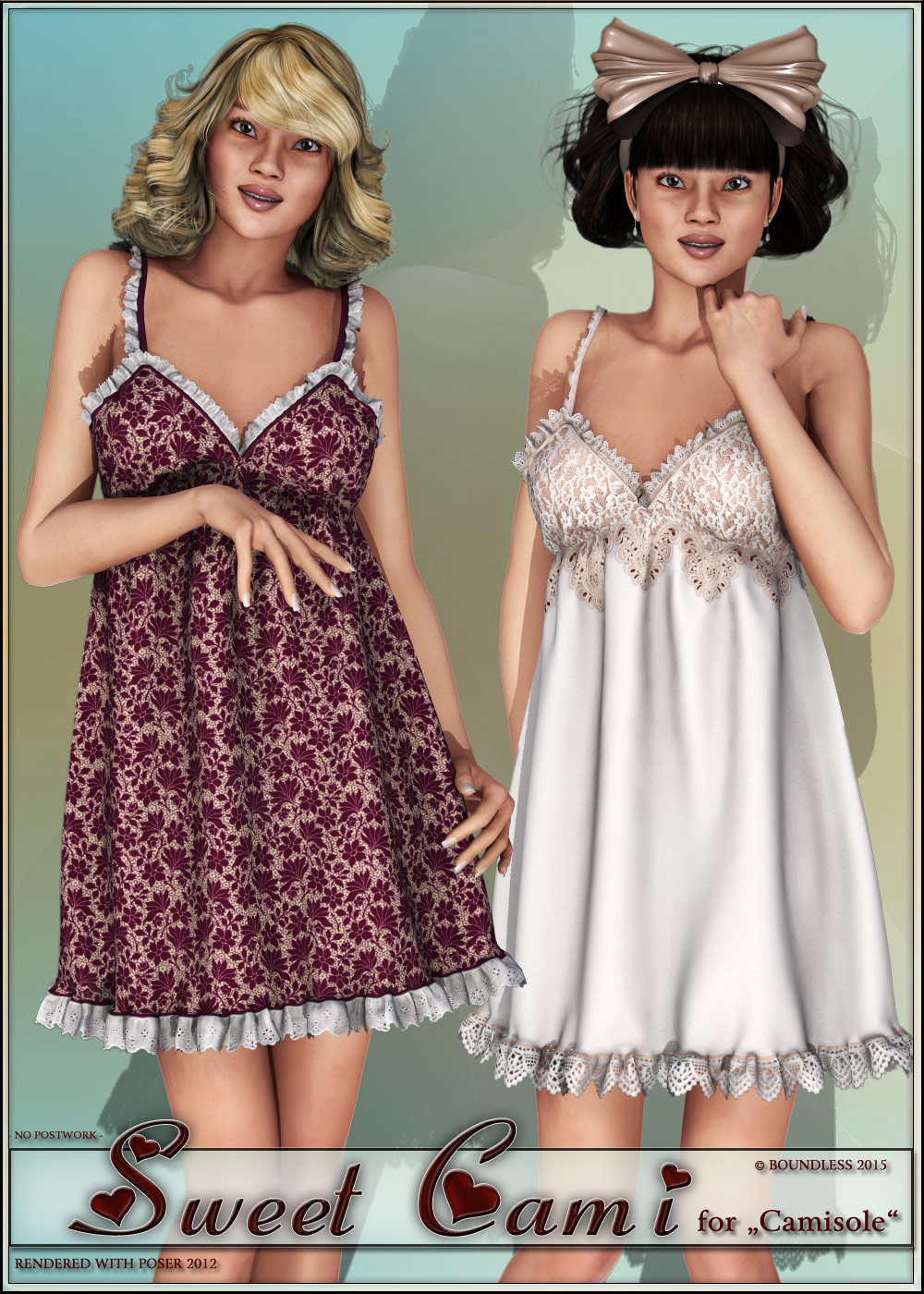 Sweet Cami for V4 camisole by boundless