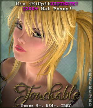 Touchable Jazmin 3D Figure Essentials -Wolfie-