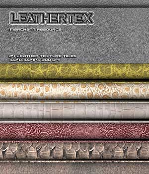 LEATHERTEX 2D Graphics RajRaja