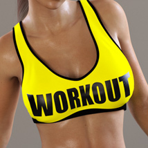Workout Outfit for Genesis 3 Female(s) / V7 image 1
