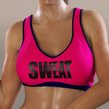 Workout Outfit for Genesis 3 Female(s) / V7 image 2