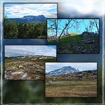 Photo Backgrounds: Northern Mountains image 1