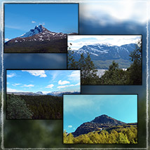 Photo Backgrounds: Northern Mountains image 2