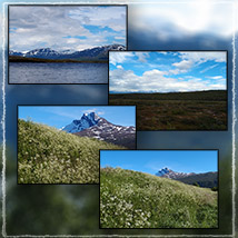 Photo Backgrounds: Northern Mountains image 3