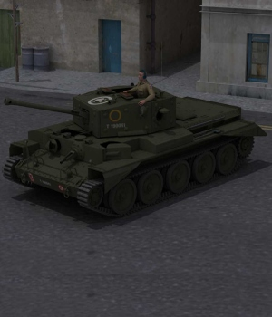Cromwell MKIV for Poser 3D Models Touchwood