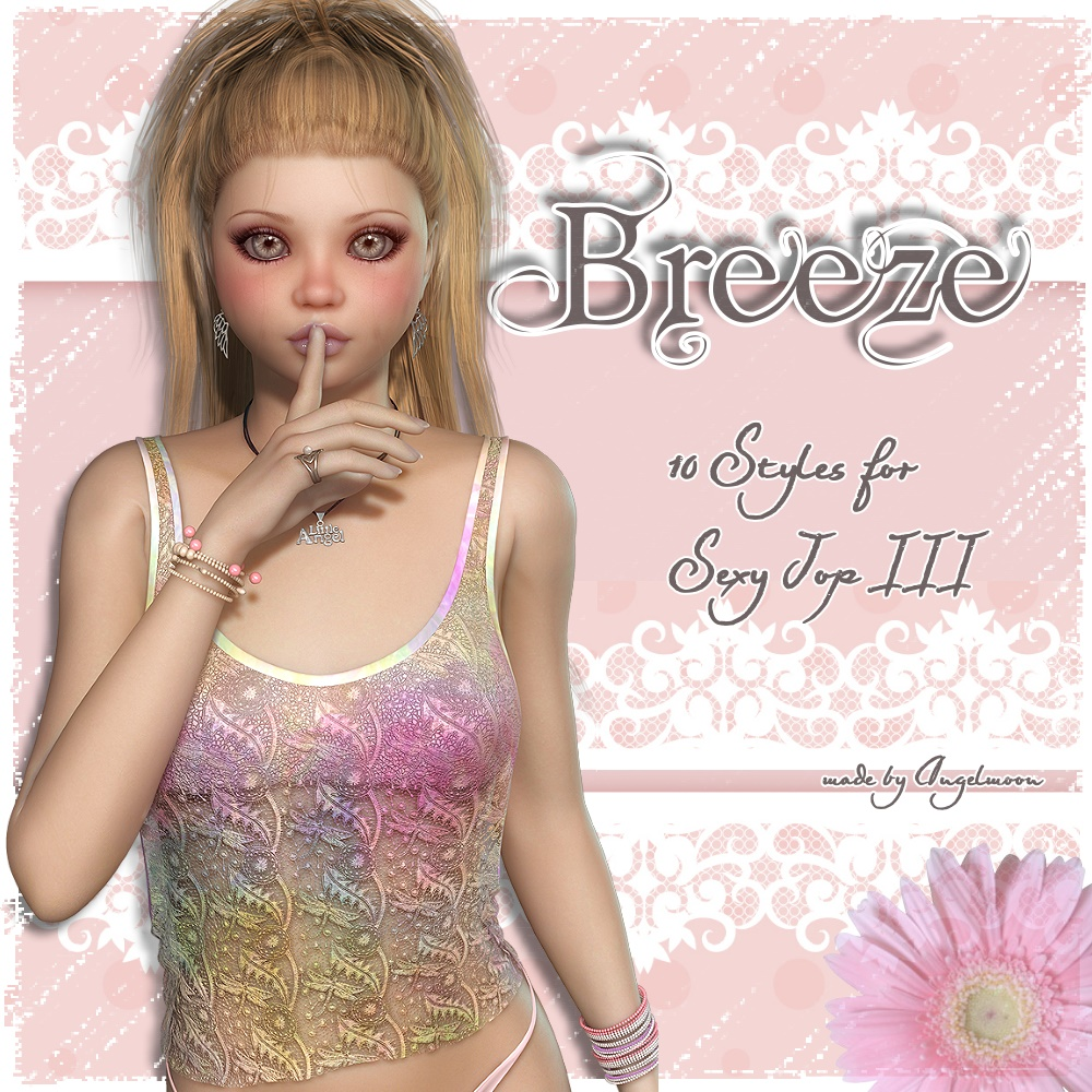 AM: BREEZE - for Sexy-Top III by LUNA3D