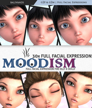 Moodism for Olly & Dolly 3D Figure Essentials Balivandi