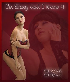 I'm sexy and I know it - G2F/V6 - G3F/V7 3D Figure Essentials ilona