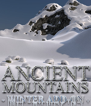 Flinks Ancient Mountains - Winter Add-on 3D Models Flink