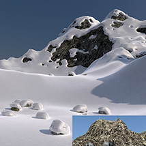 Flinks Ancient Mountains - Winter Add-on image 4
