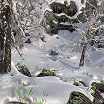 Flinks Ancient Mountains - Winter Add-on image 6