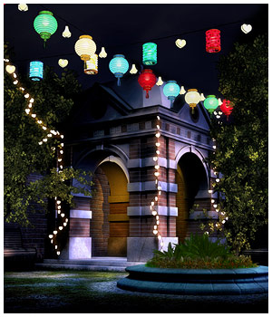 String Lights 3D Models RPublishing