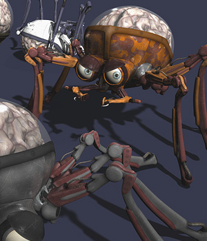 Creepy Crawler 3D Models coflek-gnorg