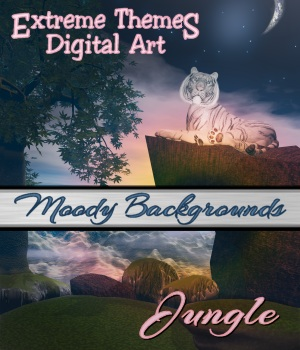 ETDA's Moody Backgrounds - Jungle 2D ExtremeThemes