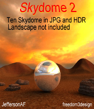 Skydome 2 2D Graphics 3D Models JeffersonAF