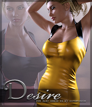 Desire for Slay Dress G3 3D Figure Essentials Sveva