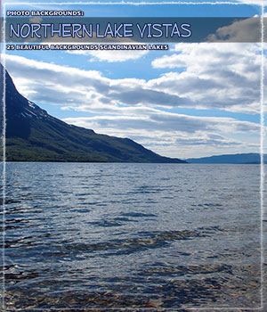 Photo Backgrounds: Northern Lake Vistas 2D Graphics ShaaraMuse3D