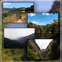 Photo Backgrounds: Greek Mountain Vistas image 2