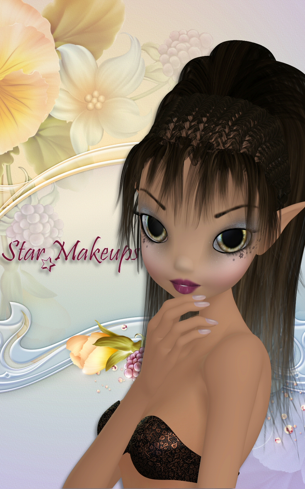 Star MakeUp-1 by 3DTubeMagic
