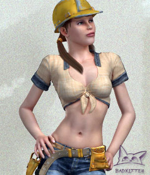 Toolgirl 2.0 3D Figure Essentials BadKittehCo