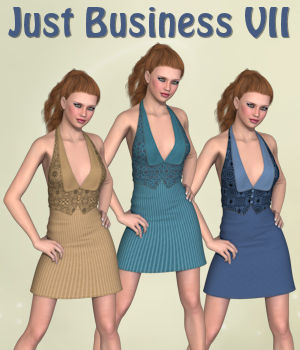 Just Business VII for 3D-Ages Office Suit VII  3D Figure Essentials PipNBairns