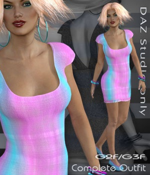 G2F/G3F Dateline 3 - DAZ Studio Only 3D Figure Essentials nirvy
