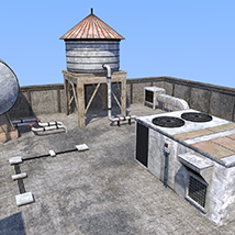 Rooftop environment set image 3