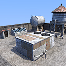 Rooftop environment set image 4