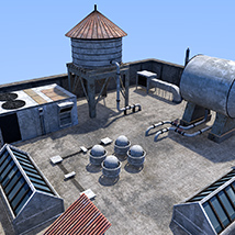 Rooftop environment set image 5