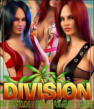 Division for V Strap Suit 3D Figure Essentials ShanasSoulmate