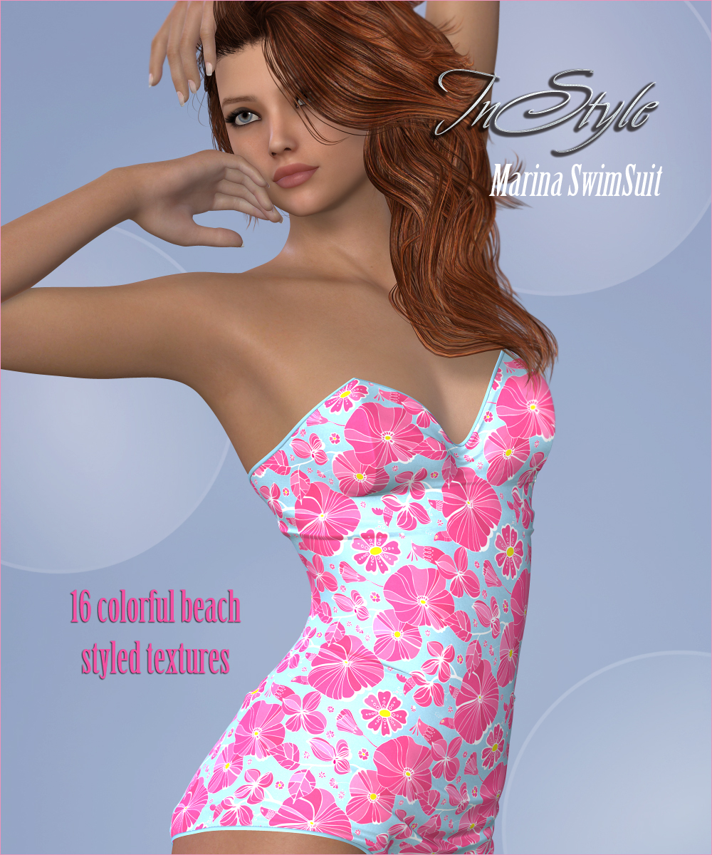 InStyle - Marina's G2F 50s SwimSuitby-Valkyrie-(),RenderFX()
