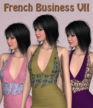 French Business VII for 3D-Ages Office Suit VII 3D Figure Essentials PipNBairns