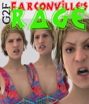 Genesis 2 Female RAGE 3D Figure Essentials farconville