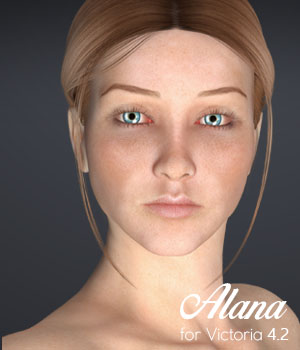 Alana for V4.2 3D Figure Essentials xtrart-3d