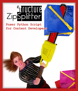 Zip Splitter for PC Software Structure