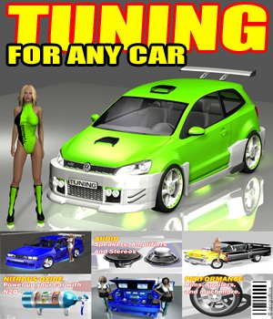 Tuning For Any Car 3D Models apcgraficos