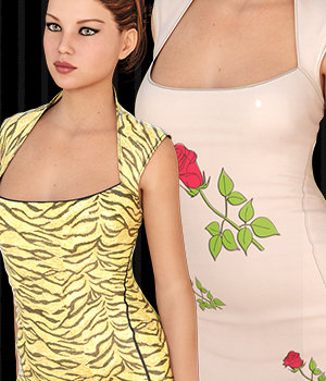 InStyle - Slay Dress for Genesis 3 Female(s) 3D Figure Assets -Valkyrie-