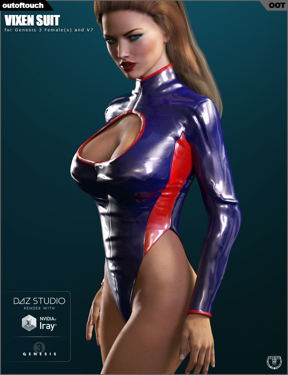 Vixen Suit for Genesis 3 Female(s)