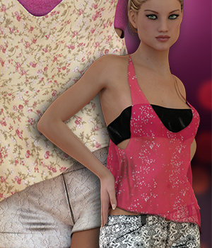 NYC Couture: Casual Summer Genesis 3 3D Figure Essentials 3DSublimeProductions